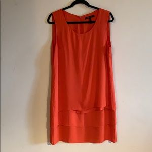 Orange layered dress from BCGB